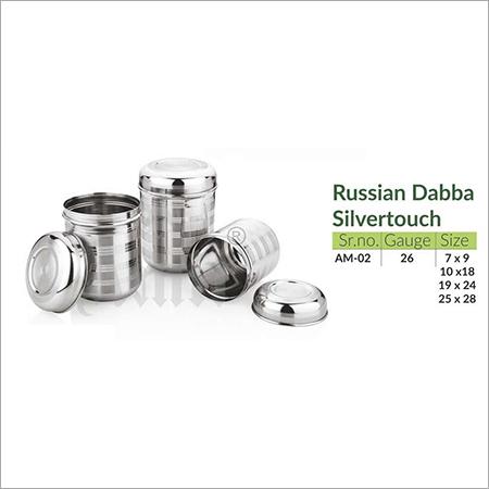 Russian Dabba Silvertouch