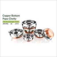 Copper Bottom Papu Chetty