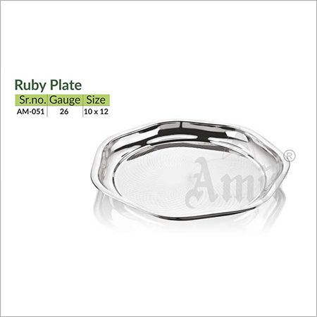 Ruby Plate