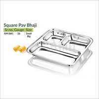 Square Pav Bhaji
