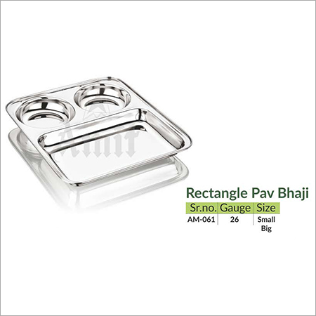 Rectangle Pav Bhaji