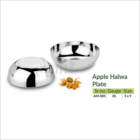 Apple Halwa Plate