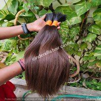 Natural Remy Virgin Dark Brown Human Hair