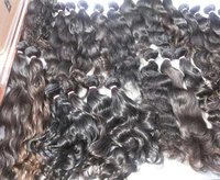 Unprocessed Machine Weft Human Hair Extensions