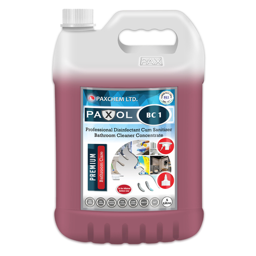 Paxol BC 1 - Professional Disinfectant Cum Sanitizer Bathroom Cleaner Concentrate