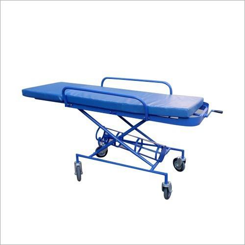 Blue Patient Trolley