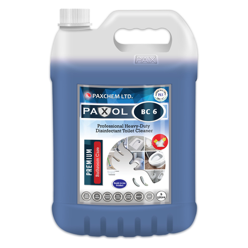 Paxol BC 6 - Professional Heavy-Duty Disinfectant Toilet Cleaner