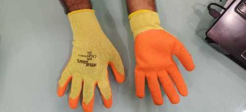 Weld Craft Yellow Orange Gloves
