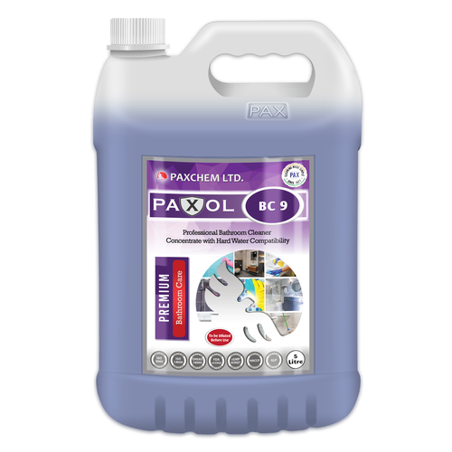 Paxol BC 9 - Professional Bathroom Cleaner Concentrate with Hard Water Compatibility