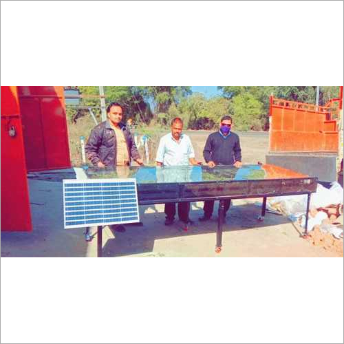 Solar Dryer For Ayurvedic Leaves
