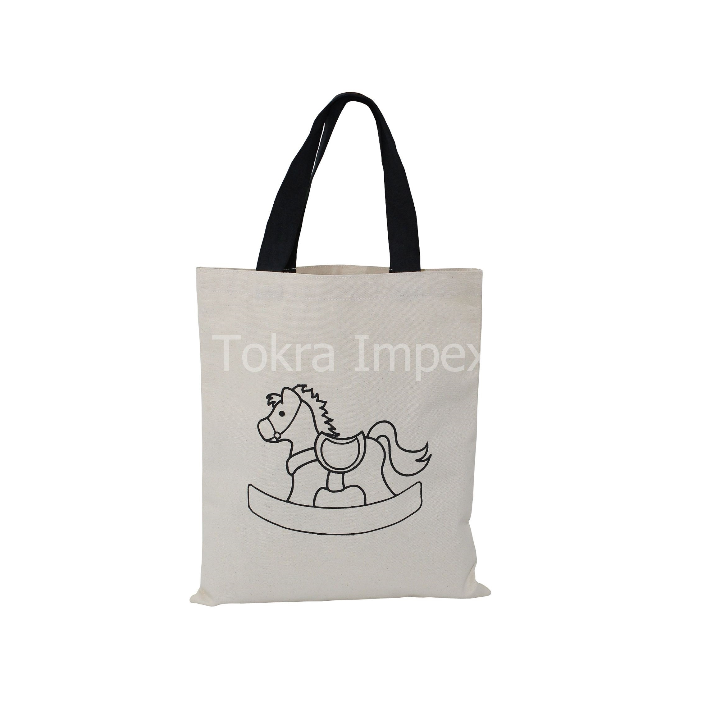 10 Oz Natural Canvas Bag With Web Handle