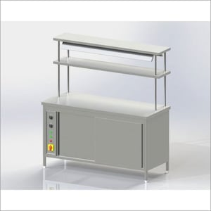 Stainless Steel Pick Up Counter