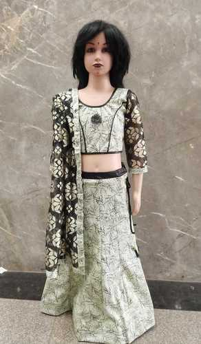 Imported Fabric Kids Lehnga