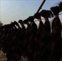 Natural Dark Brown Temple Human Hair Extensions
