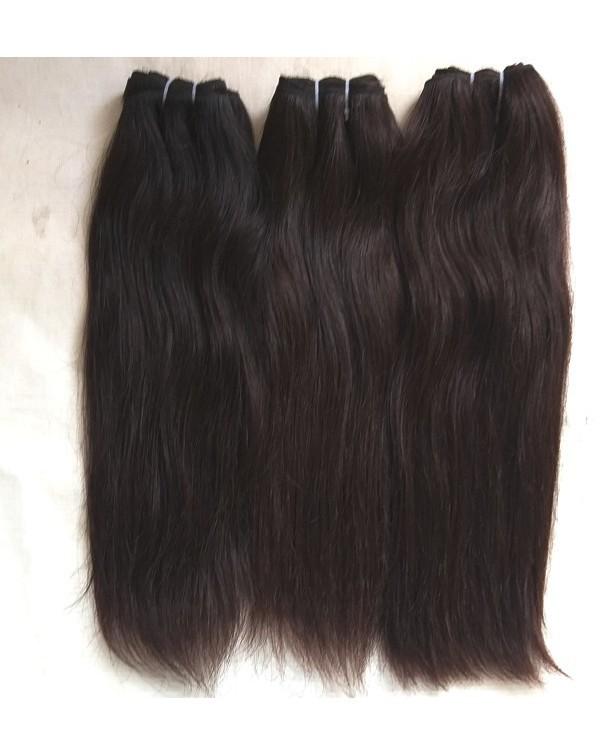 Natural Shiny Straight Human Hair Extensions
