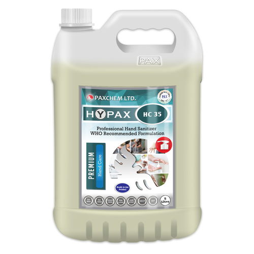 HyPax HC 35 - Professional Hand Sanitizer WHO Recommended Formulation