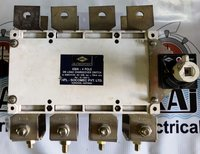 HPL SOCOMEC 630A CHANGEOVER SWITCH