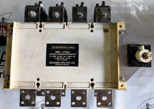 SOCOMEC HPL 800A CHANGEOVER SWITCH