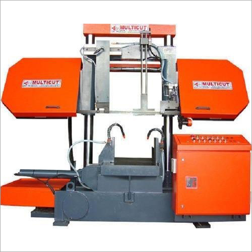Double Column Semi Automatic Band Saw Machine (without Pusher)
