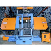 Semi Automatic Double Column Band Saw Machine (without Pusher)
