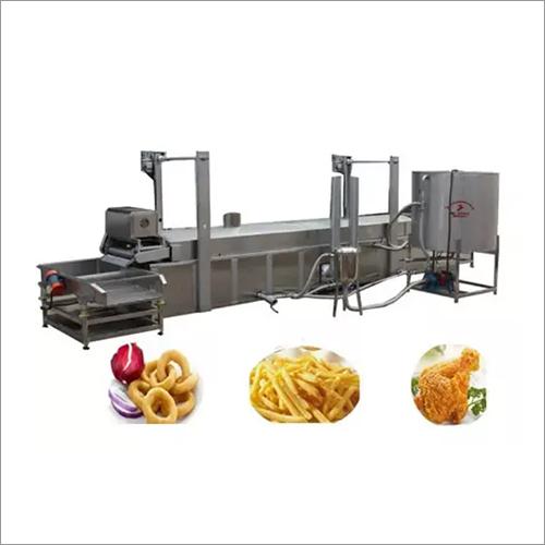 Gas Automatic Onion Chicken Fryer Machine-Continuous Fryer