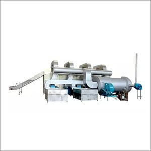 Commercial Vegetable Drying Production Machine