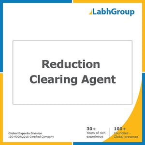 Reduction clearing agent