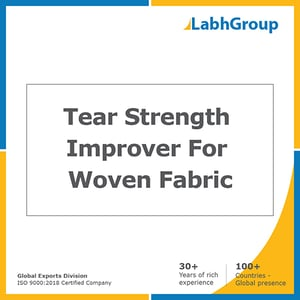 Tear strength improver for woven fabric