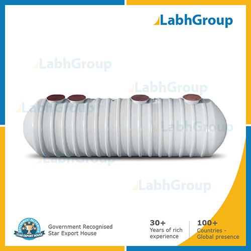 FRP underground anaerobic septic tank