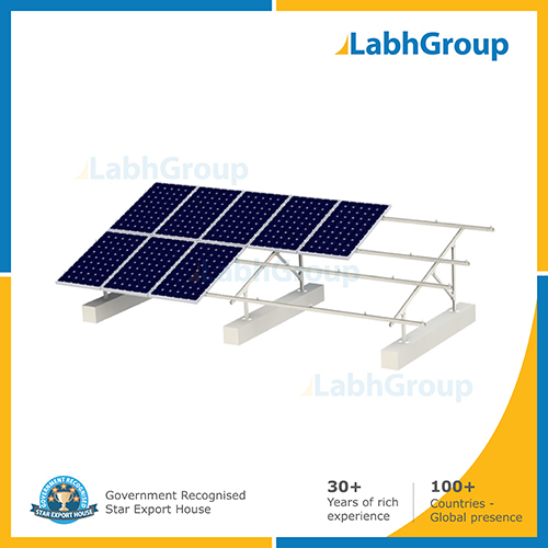 Solar panel fixed structure