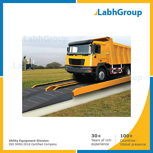 Mobile type weighbridge for transport vehicle