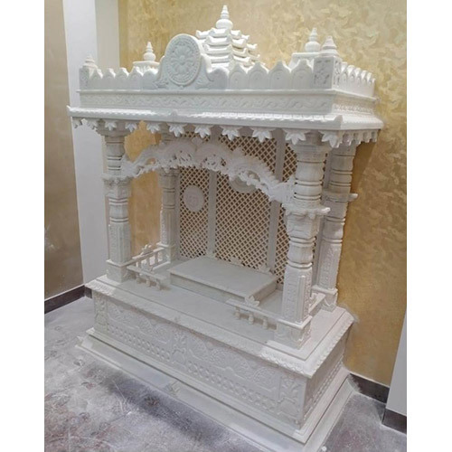 White Marble Home Temple
