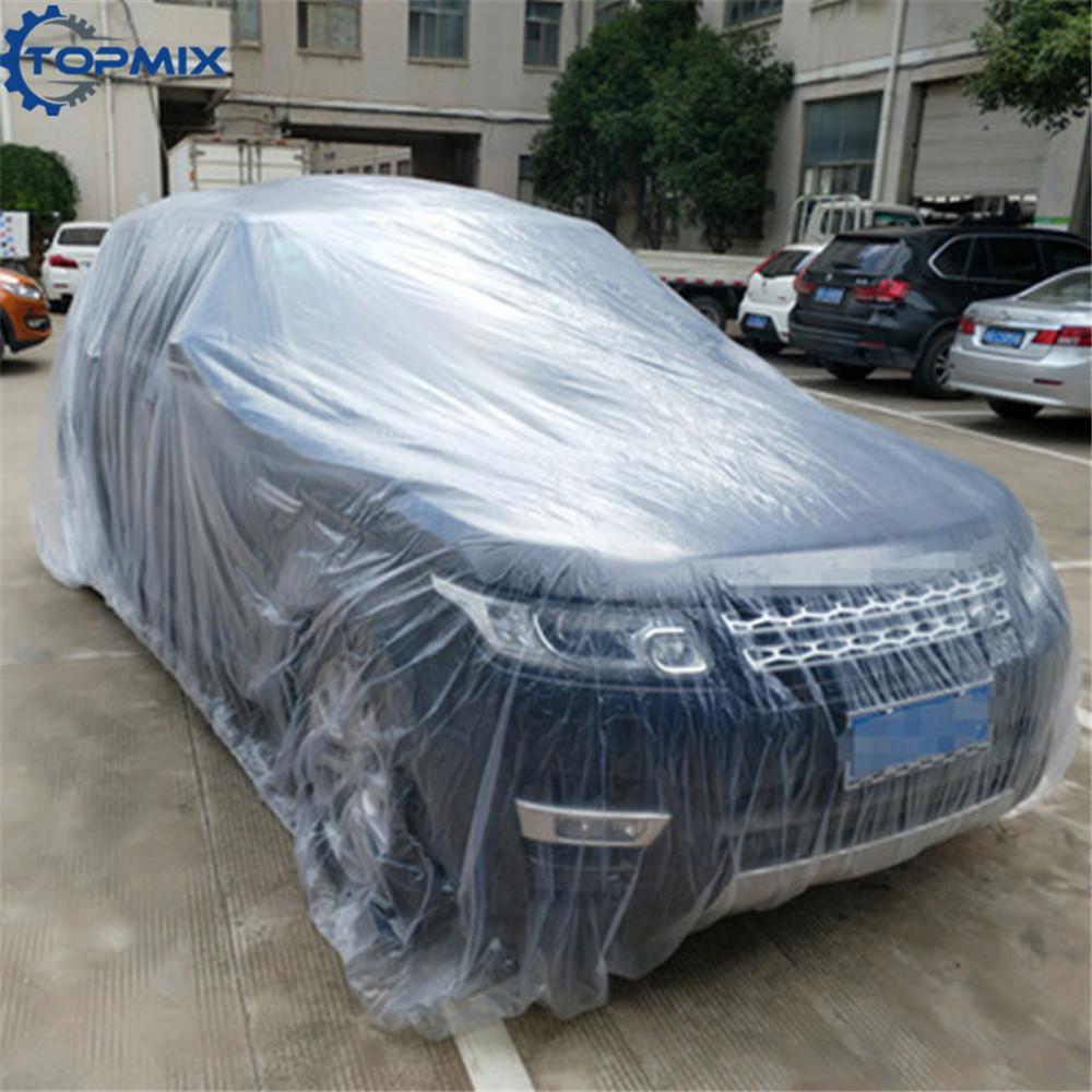plastic car cover