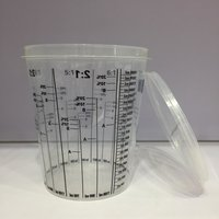 paint mixing cup