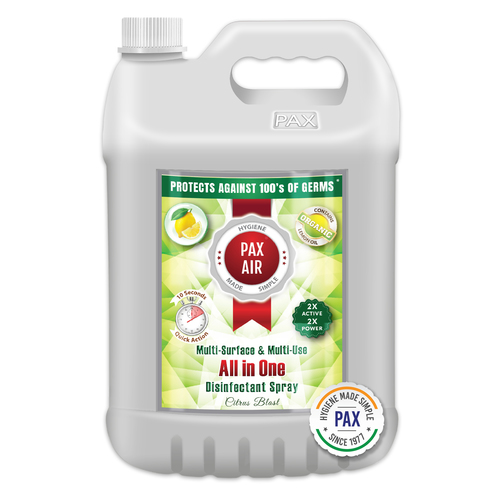 PaxAir All in One Multi-Surface & Multi-Use Disinfectant Spray