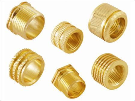 Brass Male inserts