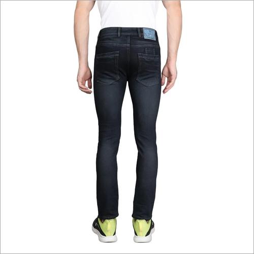 Mens Plain Denim Jeans