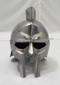 GLADIATOR ARENA HELMET - MOVIE GLADIATOR ARMOR HELMET