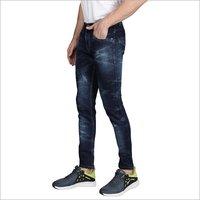 Mens Wrinkled Jeans