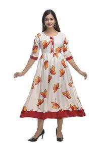 Kashishiya Printed Kurti Gown