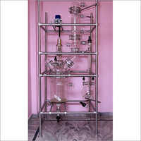 Jacketed Glass Reaction Distillation Unit