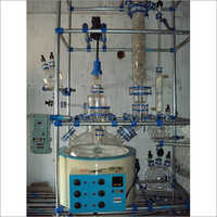 Reaction Unit with Heating Mantle Distillation Unit