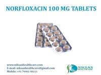 Norfloxacin 100 Mg Tablets