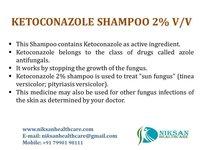 Ketoconazole 2 % V/V Shampoo