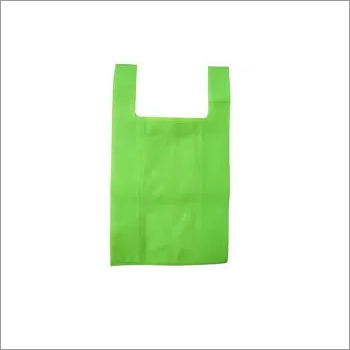 Plain U Cut Non Woven Bag