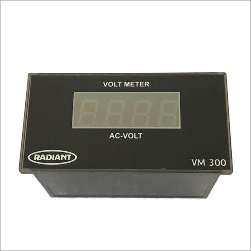 Digital Single Phase AC Volt Meter