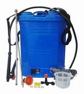 battery sprayer pump