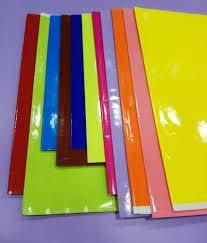 Color Lamination Sheet for Register