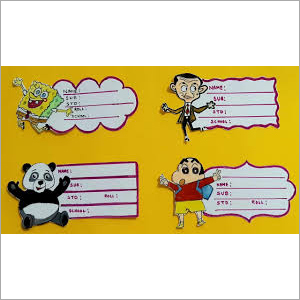 Lamination Sheet for Register School Lable Name Slip Sticker