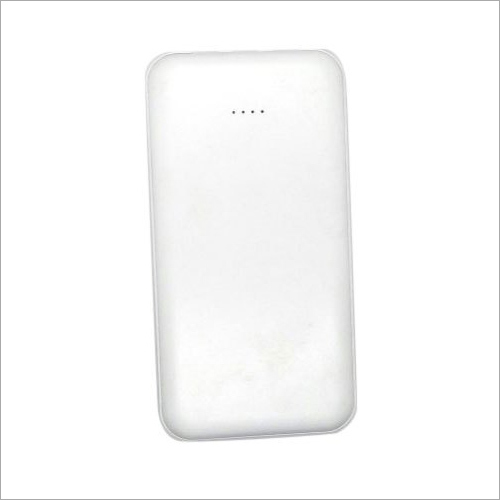 White 5000 mAh 3 In 1 Power Bank